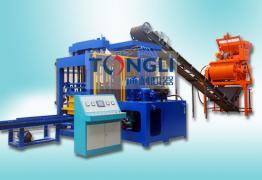 水泥砖机生产线