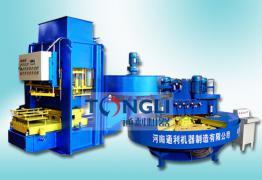 水磨石地砖机生产线